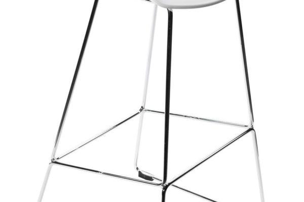 Барный стул Neo белый купить в салоне-студии мебели Барселона mnogospalen.ru много спален мебель Италии классические современные