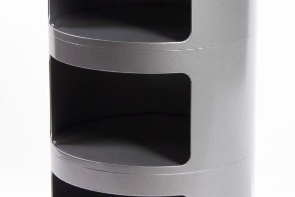Тумба Componibili с 3 отсеками серая купить в салоне-студии мебели Барселона mnogospalen.ru много спален мебель Италии классические современные