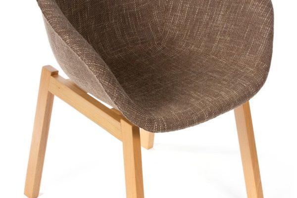 Кресло Hee Welling textile коричневое купить в салоне-студии мебели Барселона mnogospalen.ru много спален мебель Италии классические современные