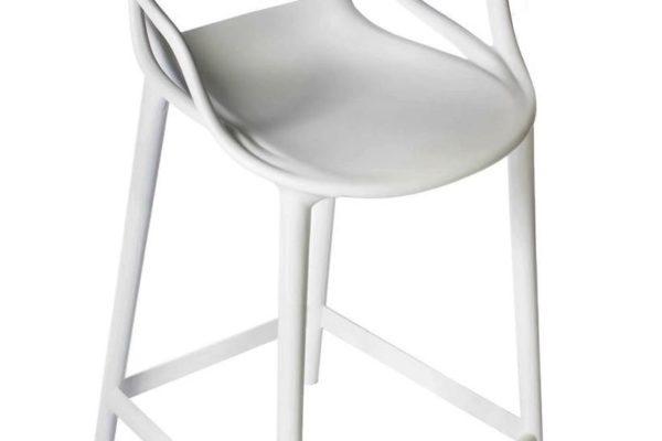 Стул полубарный Masters серый купить в салоне-студии мебели Барселона mnogospalen.ru много спален мебель Италии классические современные