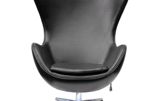 Кресло EGG CHAIR чёрный/глянец купить в салоне-студии мебели Барселона mnogospalen.ru много спален мебель Италии классические современные