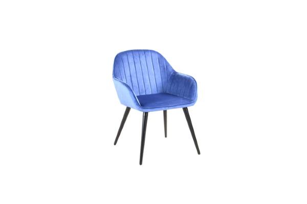 Кресло Кристи синее купить в салоне-студии мебели Барселона mnogospalen.ru много спален мебель Италии классические современные