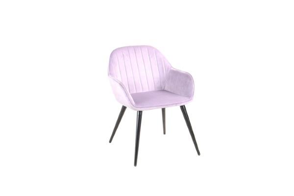 Кресло Кристи сиреневое купить в салоне-студии мебели Барселона mnogospalen.ru много спален мебель Италии классические современные