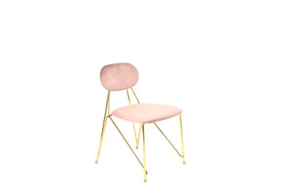 Стул Элис розовый купить в салоне-студии мебели Барселона mnogospalen.ru много спален мебель Италии классические современные