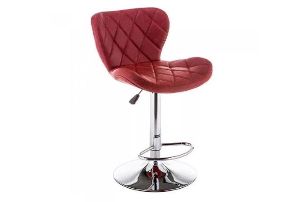 Барный стул Porch красный купить в салоне-студии мебели Барселона mnogospalen.ru много спален мебель Италии классические современные