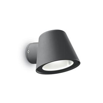 Уличный светильник GAS AP1 ANTRACITE Ideal Lux купить в салоне-студии мебели Барселона mnogospalen.ru много спален мебель Италии классические современные