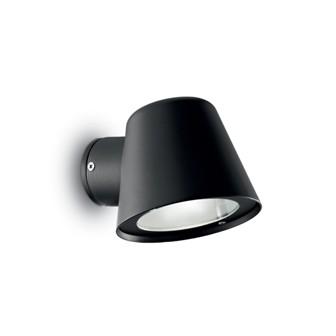 Уличный светильник GAS AP1 NERO Ideal Lux купить в салоне-студии мебели Барселона mnogospalen.ru много спален мебель Италии классические современные