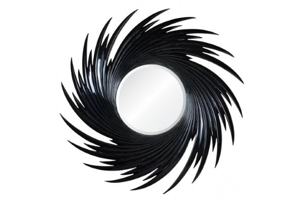 Зеркало Fortuna А88033-1 черное купить в салоне-студии мебели Барселона mnogospalen.ru много спален мебель Италии классические современные