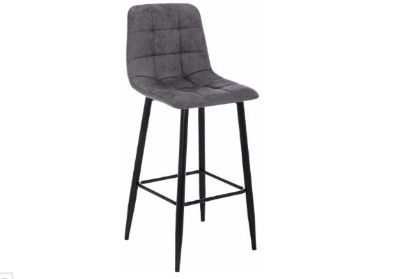 Барный стул Chio black / dark grey купить в салоне-студии мебели Барселона mnogospalen.ru много спален мебель Италии классические современные