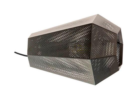 43225 Настольная лампа CHIAVICA, 1x28W (E27), L250, B175, H205, сталь, никель черный купить в салоне-студии мебели Барселона mnogospalen.ru много спален мебель Италии классические современные