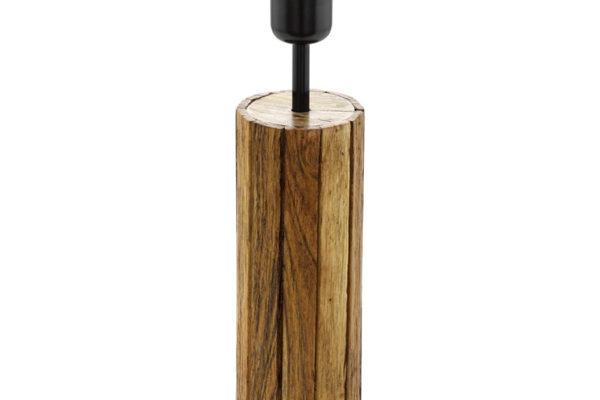 49696 Основа настольной лампы THORNHILL, h=350, деревянный/черный купить в салоне-студии мебели Барселона mnogospalen.ru много спален мебель Италии классические современные