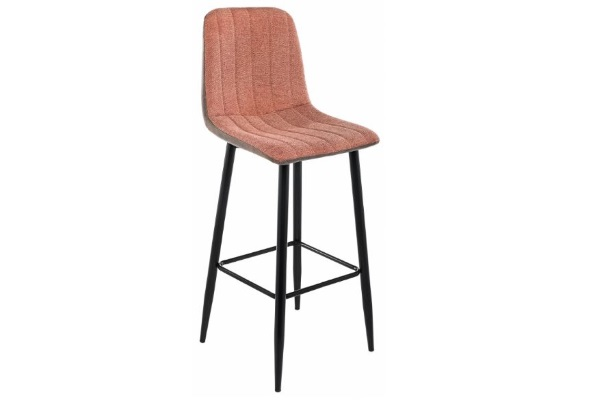 Барный стул Marvin terracotta / brown купить в салоне-студии мебели Барселона mnogospalen.ru много спален мебель Италии классические современные