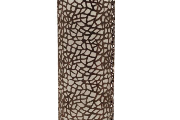 89116 Настольная лампа ALMERA, 1х60W (E27), H295, сталь, коричневый/стекло, шампань купить в салоне-студии мебели Барселона mnogospalen.ru много спален мебель Италии классические современные