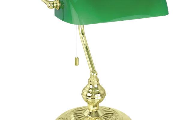 90967 Настольная лампа BANKER, 1X60W (E27) купить в салоне-студии мебели Барселона mnogospalen.ru много спален мебель Италии классические современные