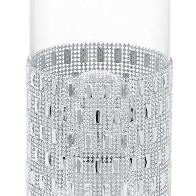 94619 Настольная лампа TORVISCO, 1x60W (E27), ?110, H275, сталь, хром/стекло, прозрачный купить в салоне-студии мебели Барселона mnogospalen.ru много спален мебель Италии классические современные