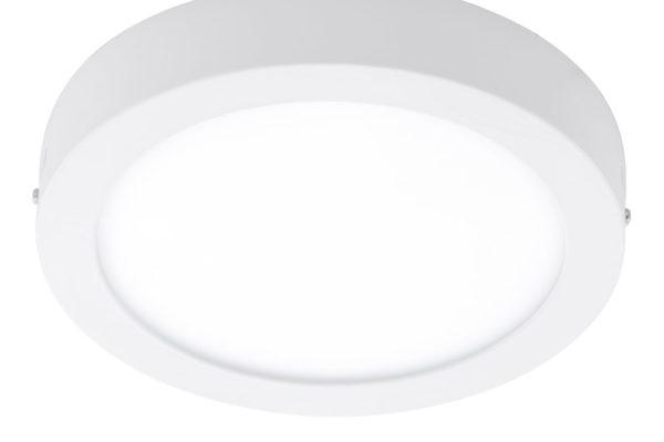 96491 Уличный светодиодный светильник настенно-потол. ARGOLIS, 16,5W(LED), ?225, лит. алюминий, белы купить в салоне-студии мебели Барселона mnogospalen.ru много спален мебель Италии классические современные
