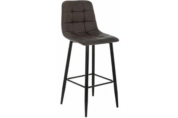 Барный стул Chio black / dark brown купить в салоне-студии мебели Барселона mnogospalen.ru много спален мебель Италии классические современные