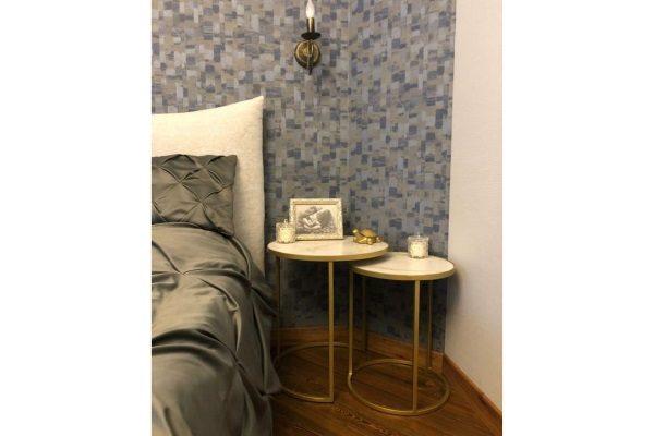 Журнальный стол из керамогранита купить в салоне-студии мебели Барселона mnogospalen.ru много спален мебель Италии классические современные